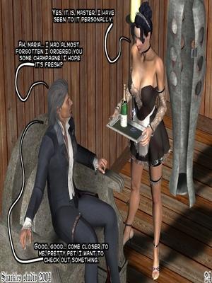 3D Porn Comics Shackles Studio- The Training Porn Comic 24