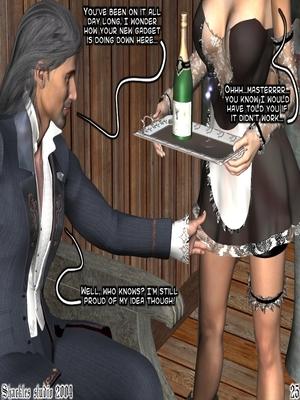 3D Porn Comics Shackles Studio- The Training Porn Comic 25