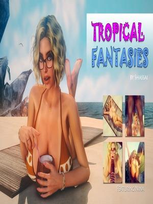 Porn Comics - 3D : Shassai- Tropical Fantasies Porn Comic