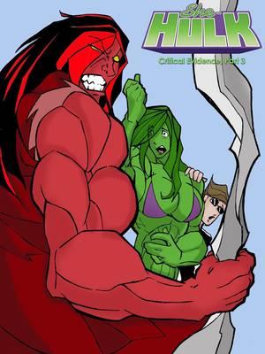 Porn Comics - She Hulk- Critical Evidence 3 free Porn Comic