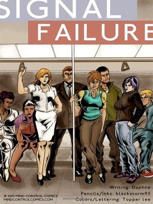 Adult Comics Signal Failure- Mind Control Porn Comic 01