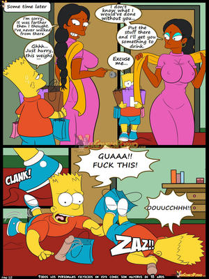 Incest Comics Simpsons- Old habits 7- Croc Porn Comic 13