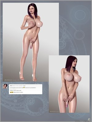 3D Porn Comics Sisters Dick Girl Cock Porn Comic 01