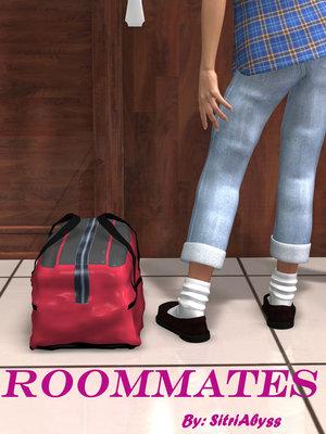 3D Porn Comics Sitriabyss- Roommates Porn Comic 01