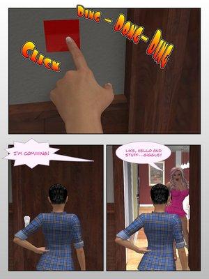 3D Porn Comics Sitriabyss- Roommates Porn Comic 02