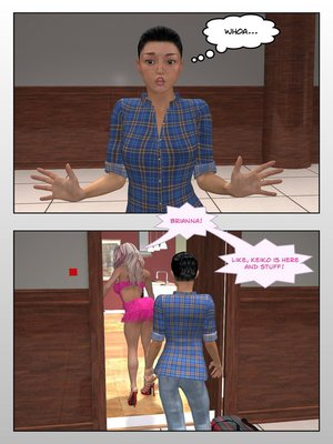 3D Porn Comics Sitriabyss- Roommates Porn Comic 05