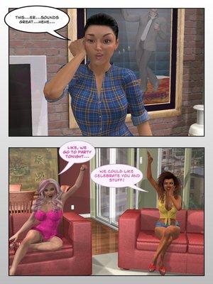 3D Porn Comics Sitriabyss- Roommates Porn Comic 14