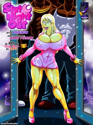 Porn Comics - XXX – Slut Night Out – Simpsons [Kogeikun] Porn Comic