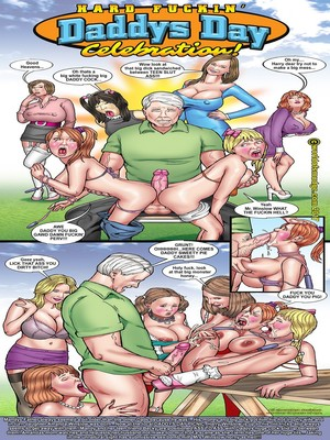 Porn Comics - Smudge- Hard Fucking Daddy's Day Celebration free Porn Comic