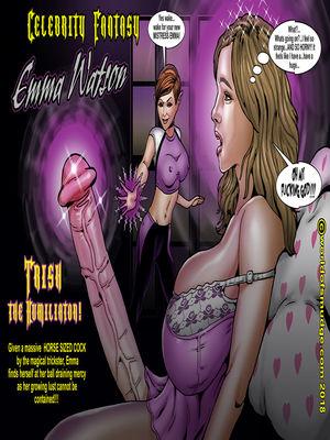 Porn Comics - Smudge- Trish and Celebrities free Porn Comic