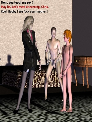 3D Porn Comics Spudnuts Moms fantasy Porn Comic 05