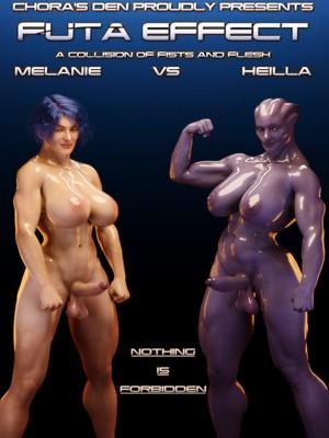 3D Porn Comics Squarepeg3D- Futa Effect – Heilla vs Melanie Porn Comic 01