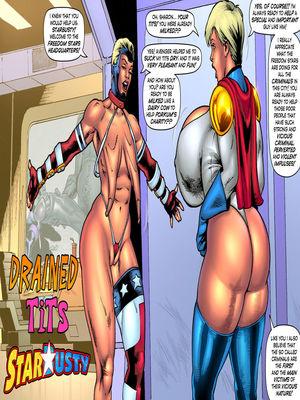 Porncomics Starbusty- Drained Tits Porn Comic 01