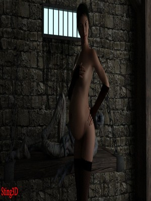 Sting3D- Prisoner of Fuck Castle free Porn Comic
