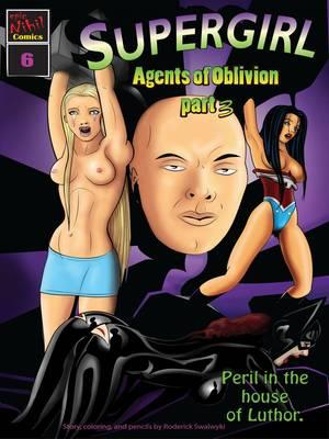 Porn Comics - Supergirl- Agents of Oblivion Part 3 free Porn Comic