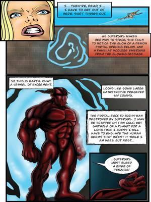Porncomics Supergirl- Demonic Bloodsport Part 3 Porn Comic 07