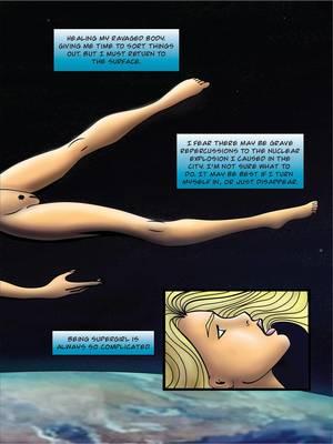 Porncomics Supergirl- Demonic Bloodsport Part 3 Porn Comic 10