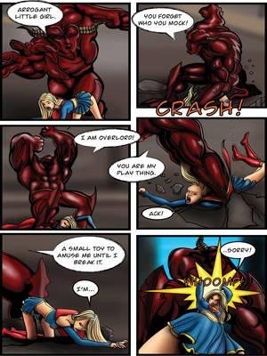 Porncomics Supergirl- Demonic Bloodsport Part 3 Porn Comic 25