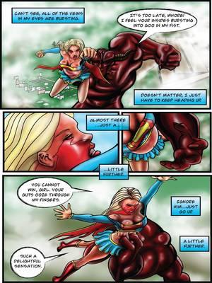 Porncomics Supergirl- Demonic Bloodsport Part 3 Porn Comic 33