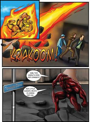 Porncomics Supergirl- Demonic Bloodsport Part 3 Porn Comic 36