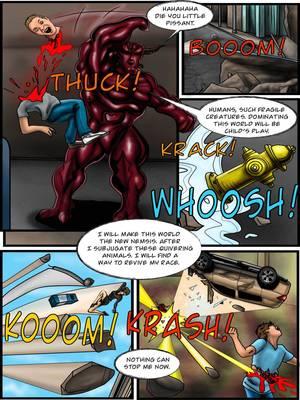 Porncomics Supergirl- Demonic Bloodsport Part 3 Porn Comic 37