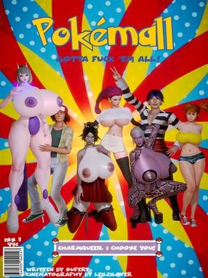 Porn Comics - SuperT- Pokemall free Porn Comic