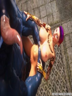 3D Porn Comics Supro- Krissy And The Minotaur Porn Comic 78