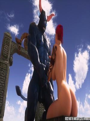 3D Porn Comics Supro- Krissy And The Minotaur Porn Comic 85