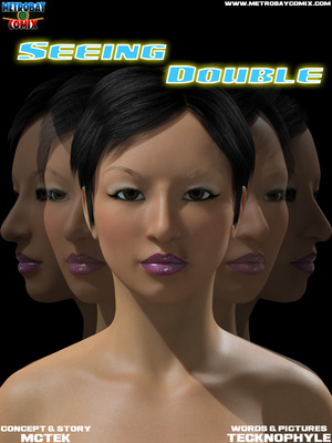 Porn Comics - Tecknophyle- Seeing Double 1-2 free Porn Comic