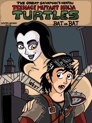 Porn Comics - Teenage Mutant Ninja Turtles. Bat versus Bat free Porn Comic
