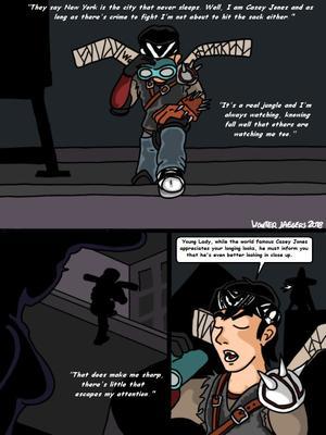 Porncomics Teenage Mutant Ninja Turtles. Bat versus Bat Porn Comic 02