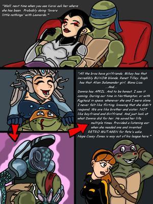 Porncomics Teenage Mutant Ninja Turtles. Bat versus Bat Porn Comic 04