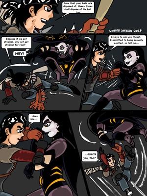 Porncomics Teenage Mutant Ninja Turtles. Bat versus Bat Porn Comic 07