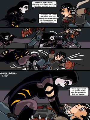 Porncomics Teenage Mutant Ninja Turtles. Bat versus Bat Porn Comic 08