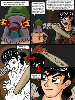 Porncomics Teenage Mutant Ninja Turtles. Bat versus Bat Porn Comic 11