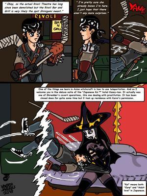 Porncomics Teenage Mutant Ninja Turtles. Bat versus Bat Porn Comic 12