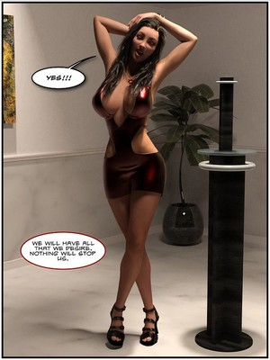 3D Porn Comics TGTrinity- The Museum Porn Comic 09