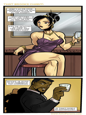 Porn Comics - Interracial : That Brooks Charm- John Persons Porn Comic