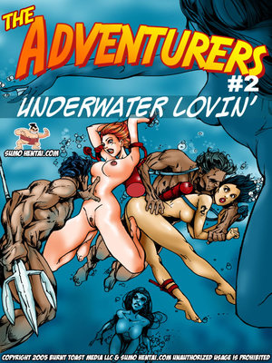 Adult Comics The Adventurers 2- Underwater Lovin Porn Comic 01
