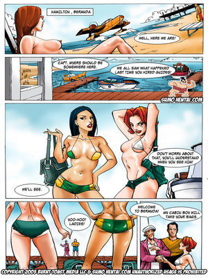Adult Comics The Adventurers 2- Underwater Lovin Porn Comic 02