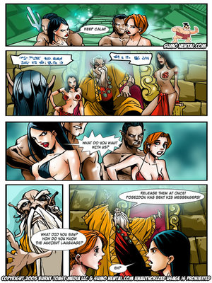 Adult Comics The Adventurers 2- Underwater Lovin Porn Comic 11