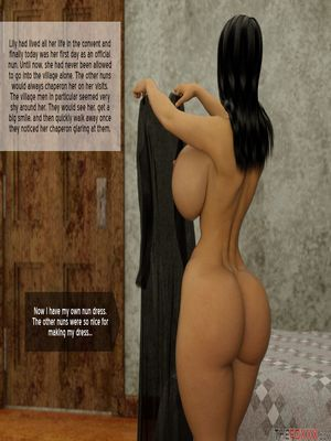 3D Porn Comics The Foxxx- Lily's First Day as a Nun Porn Comic 02