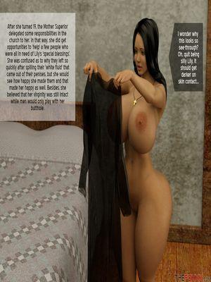 3D Porn Comics The Foxxx- Lily's First Day as a Nun Porn Comic 03