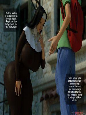 3D Porn Comics The Foxxx- Lily's First Day as a Nun Porn Comic 13