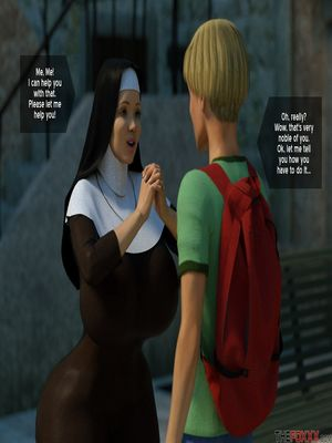 3D Porn Comics The Foxxx- Lily's First Day as a Nun Porn Comic 14