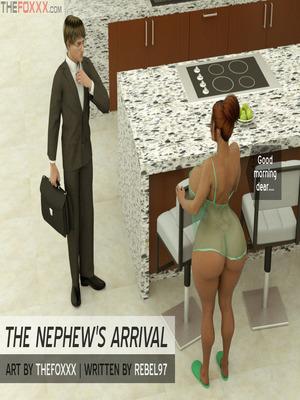 3D Porn Comics The Foxxx- Nephew's arrival Porn Comic 01
