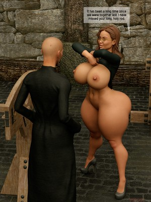 3D Porn Comics The Foxxx- Visiting the Mother Hoare Porn Comic 08