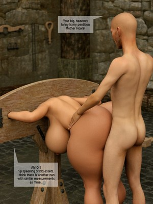 3D Porn Comics The Foxxx- Visiting the Mother Hoare Porn Comic 16