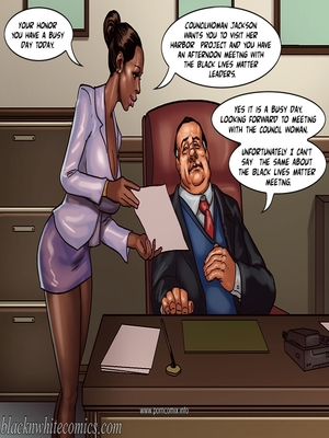 Interracial Comics The Mayor 2- Blacknwhite Porn Comic 02
