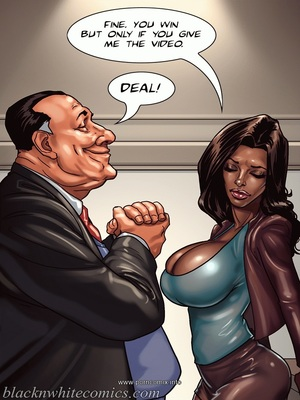 Interracial Comics The Mayor 2- Blacknwhite Porn Comic 07